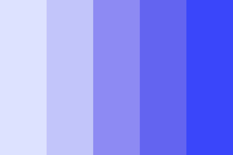 Blues Clues Color Palette