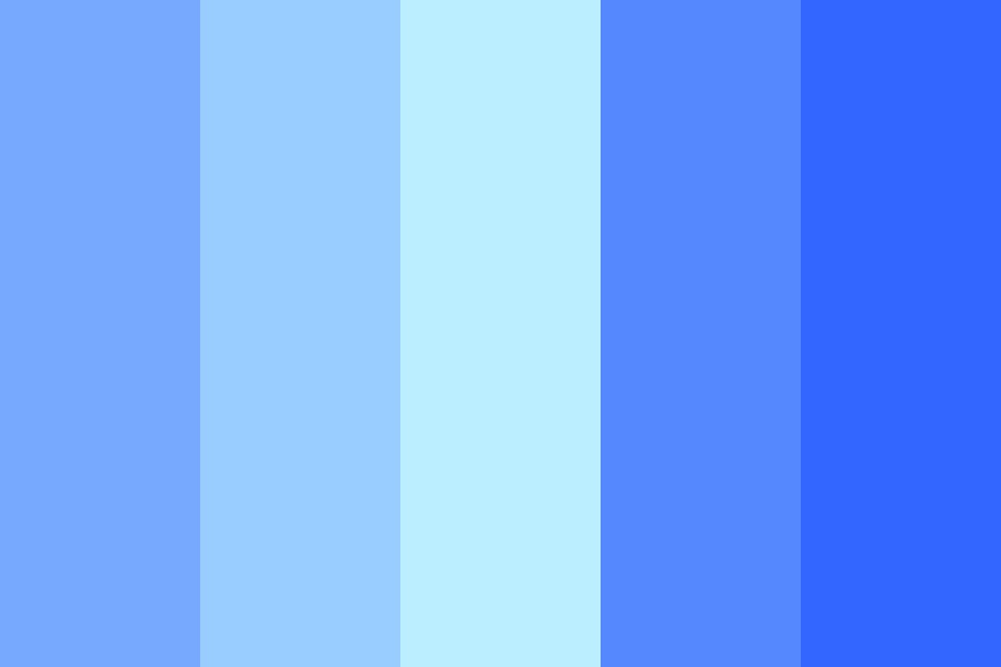 Blues Color Palette