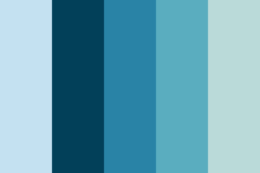 Blues N Stuff Color Palette