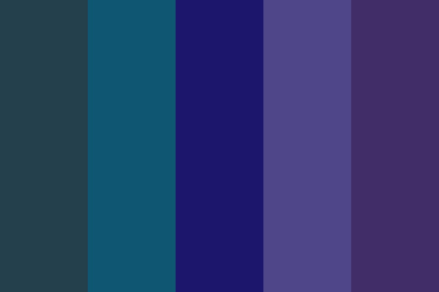 Blues Of More Signifigance Color Palette