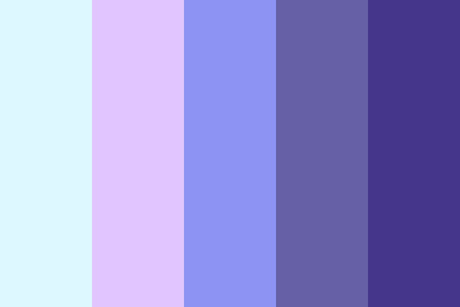 Bluesssssssss Color Palette