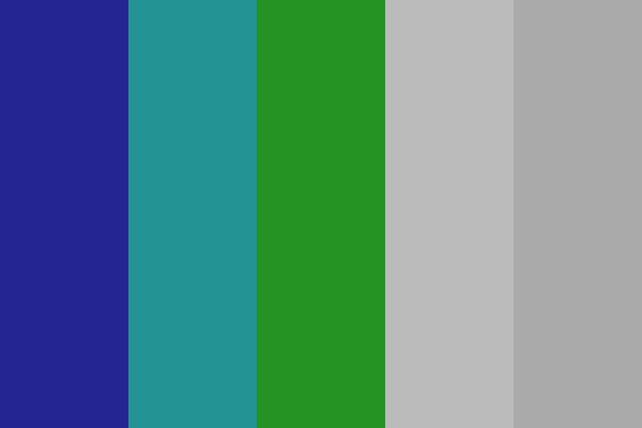Bluetogreeb Color Palette