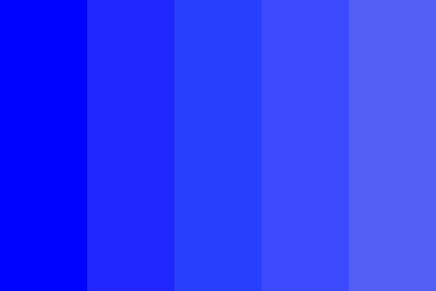 Bluey Color Palette