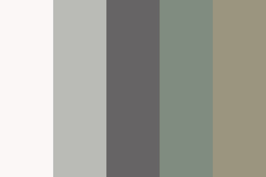 Bold And Grey Color Palette