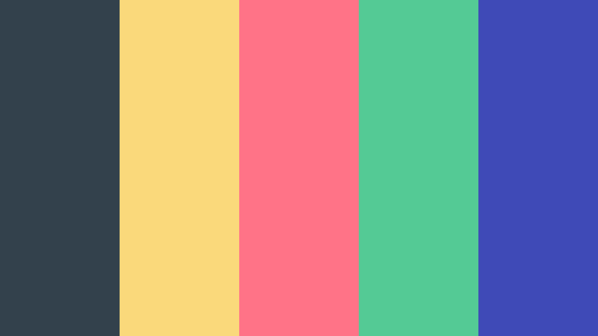 Boring Things Gone Color Palette