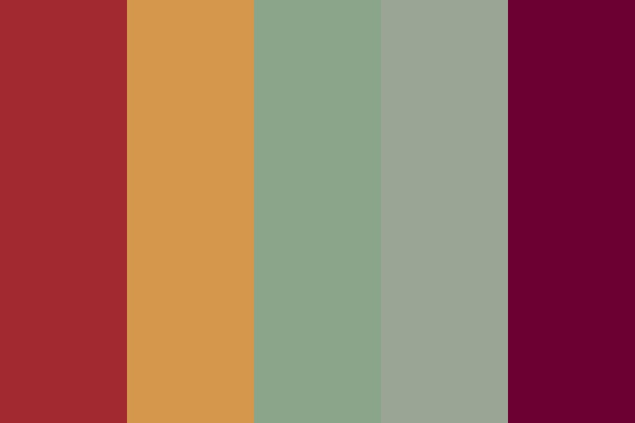 Boskunbright Color Palette