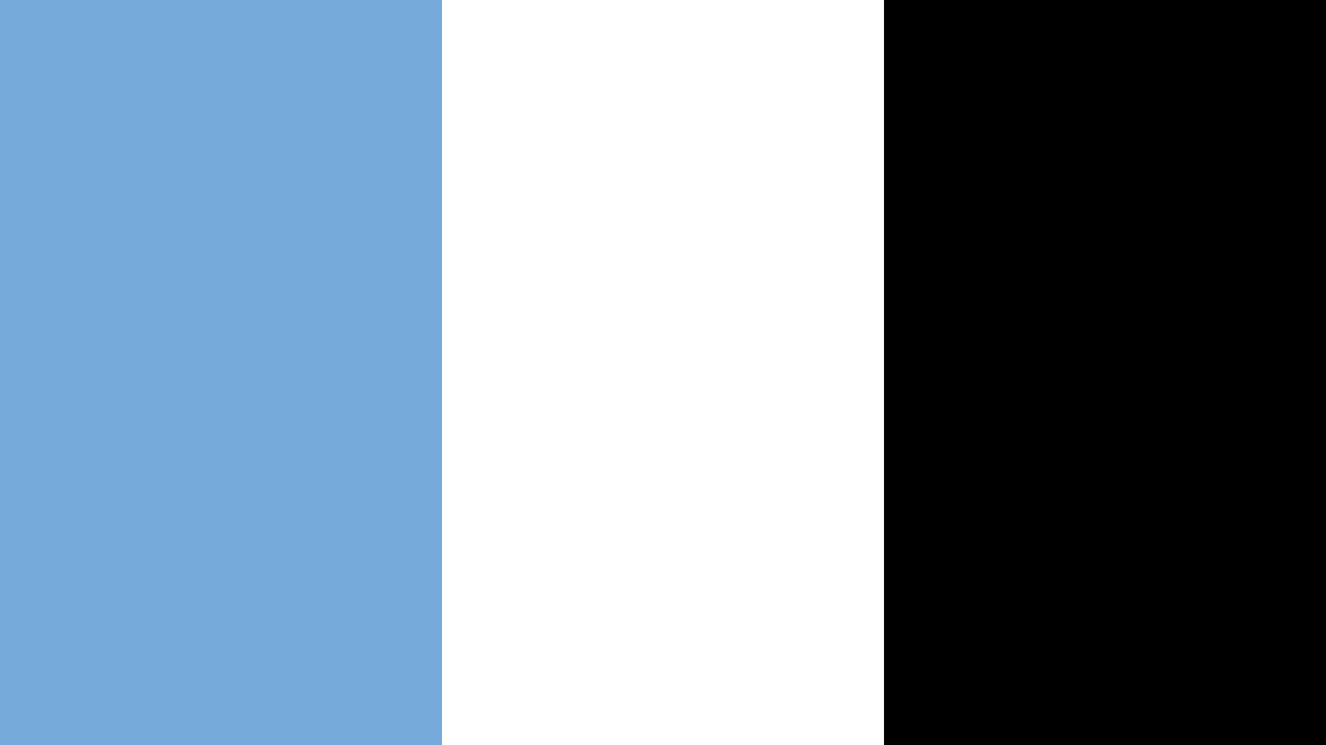Botswana Flag Color Palette
