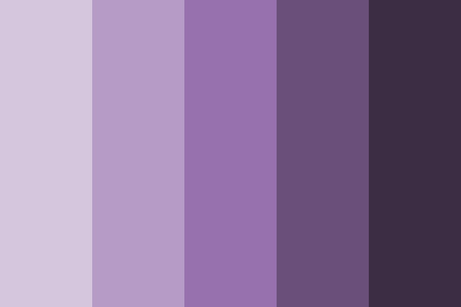Brand Purple Color Palette