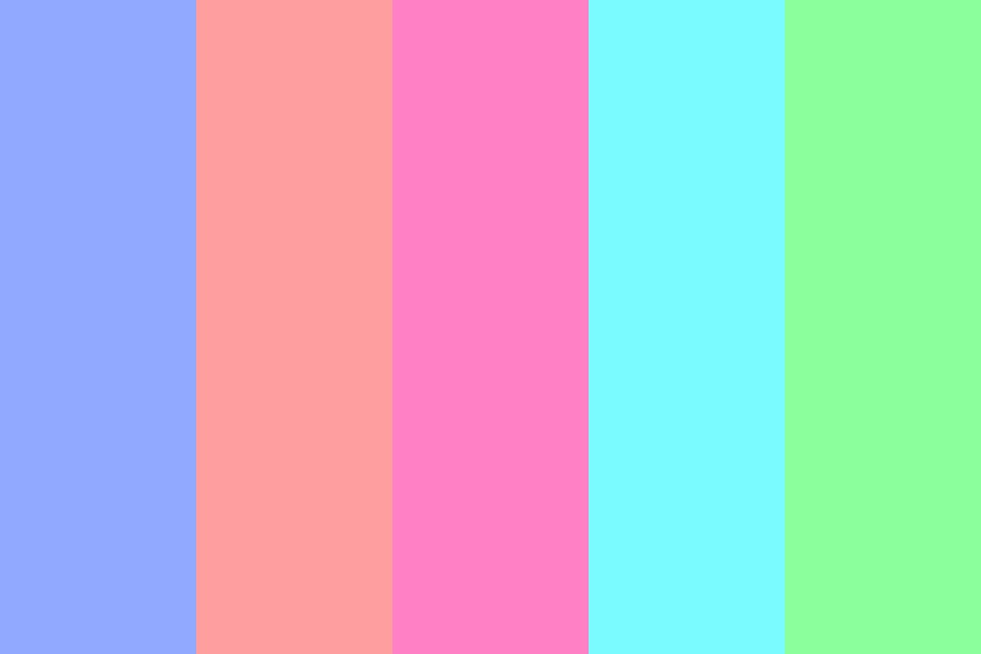 Bright  Colors Color Palette
