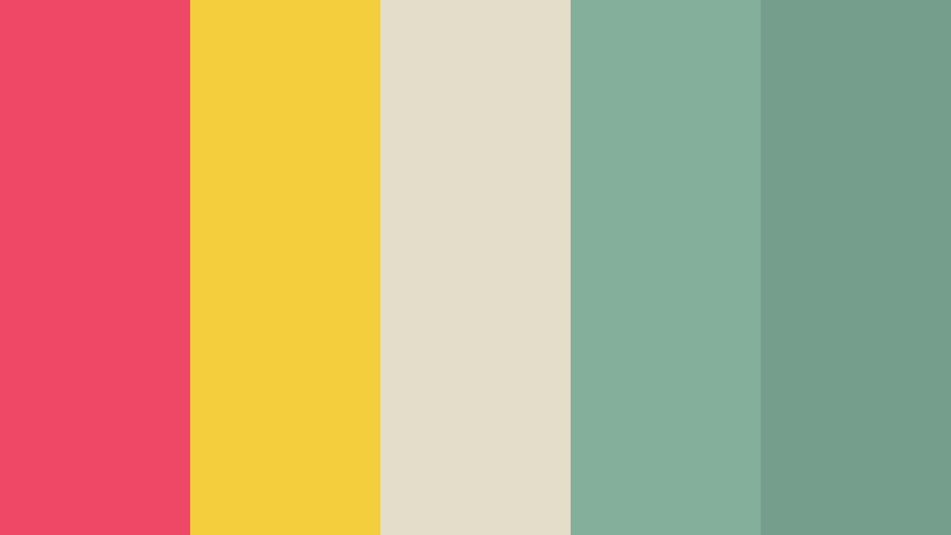 Bright And Dull Color Palette