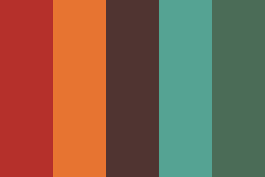 Bright And Earthy Color Palette