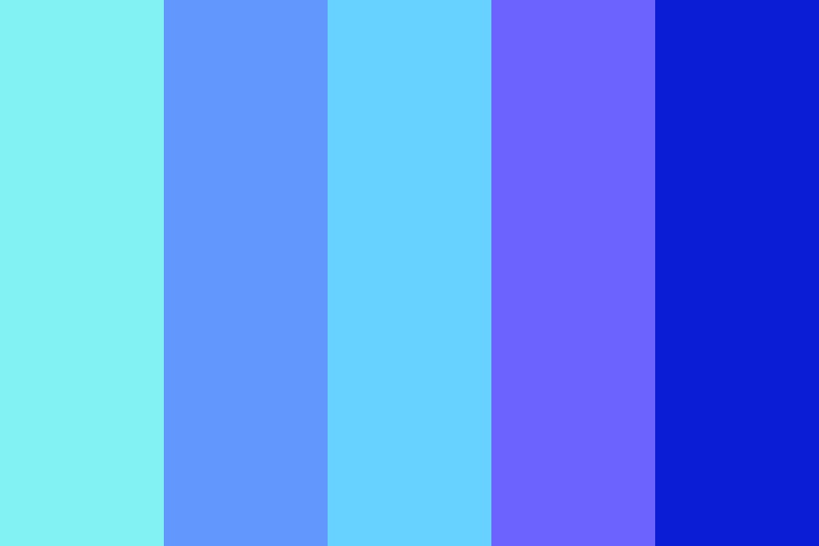Bright Blues Color Palette