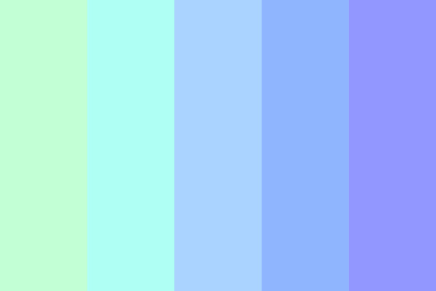Bright City Lights Color Palette