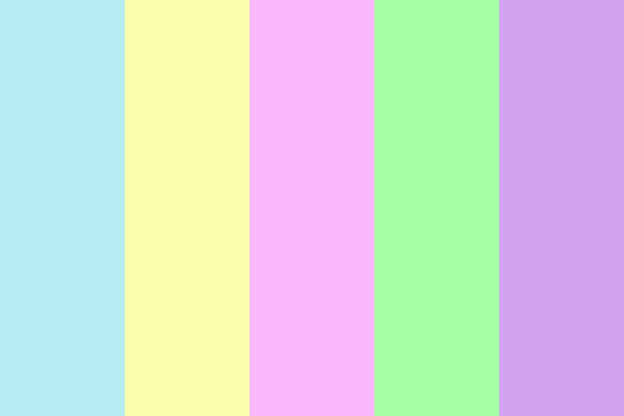 Bright Easter Color Palette