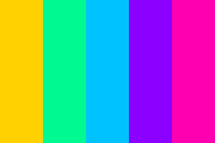 Bright Exciting Vibrant Colors Color Palette