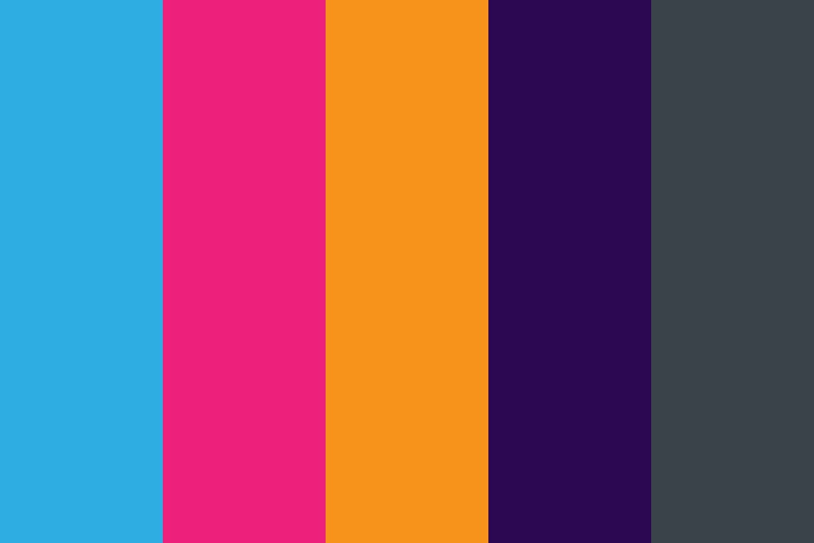 Bright Giving Project Color Palette
