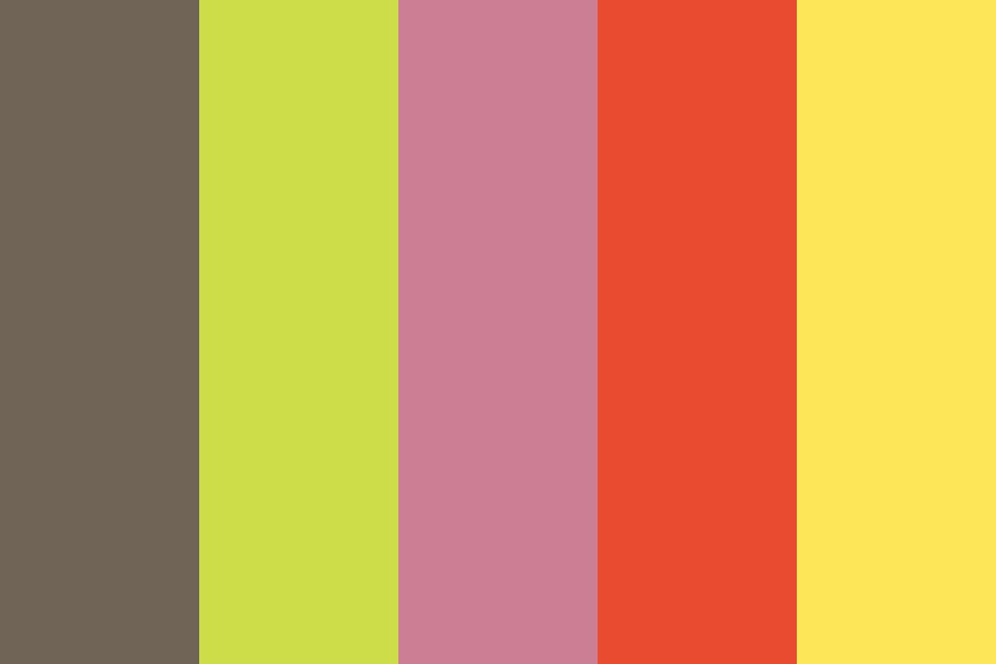 Bright Like Today Color Palette