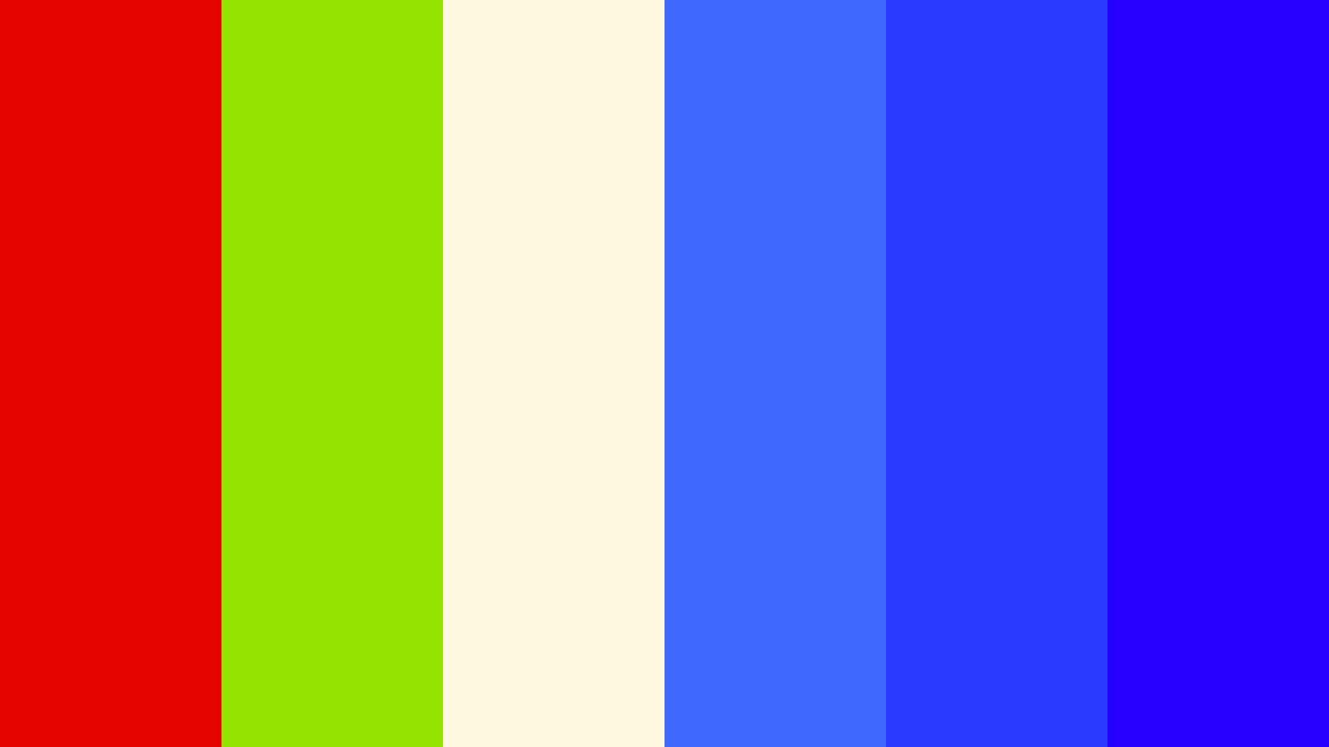 Bright Man Cave Color Palette