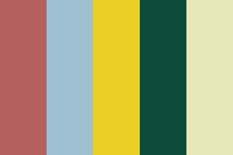 Bright N Dreary Color Palette