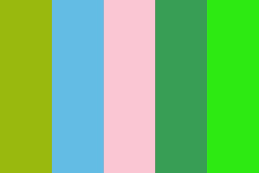 Bright Nothingness Of Being Color Palette