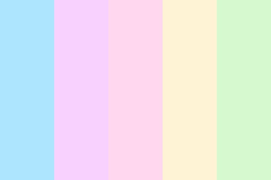 Bright Pastels Color Palette