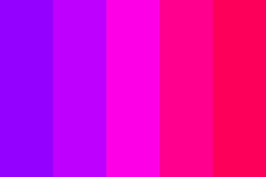 Bright Purple And Pink Sugary Death Color Palette