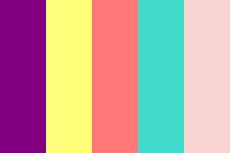 Bright Spring Colours Color Palette
