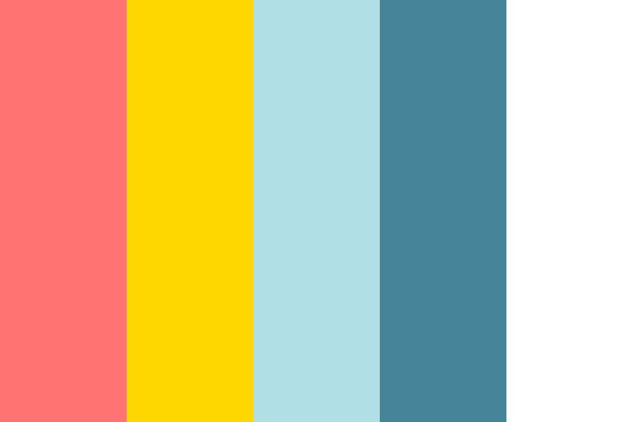 Brightly Colored Color Palette