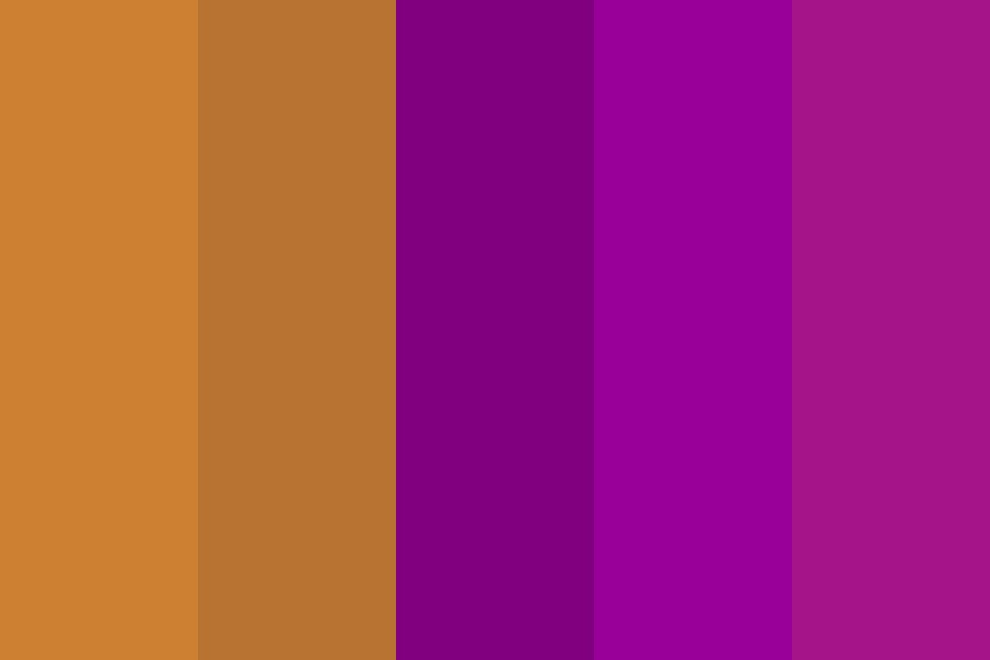 Brown And Purple Color Palette