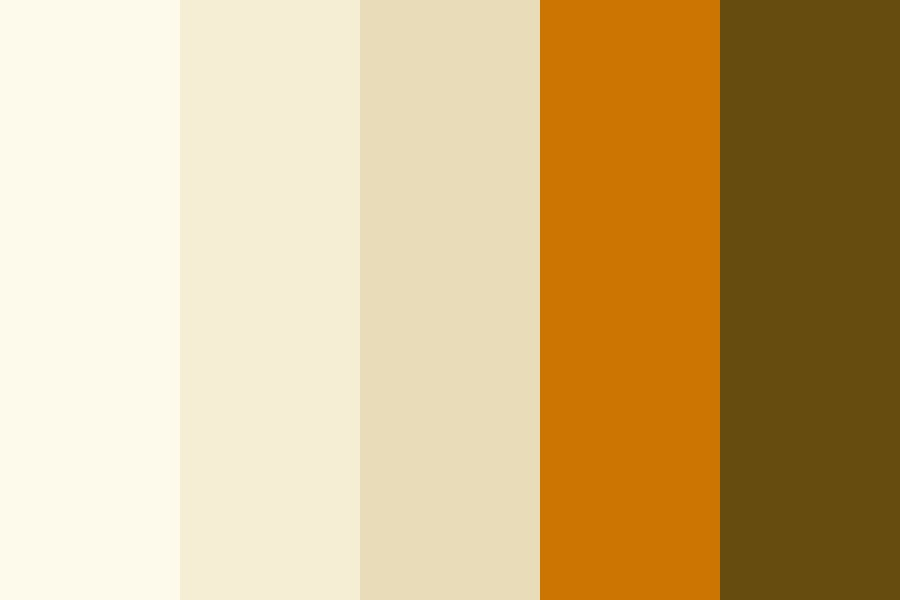 Brown Boots In Sand Color Palette