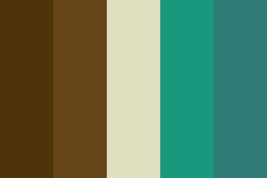 Brown Comp Color Palette