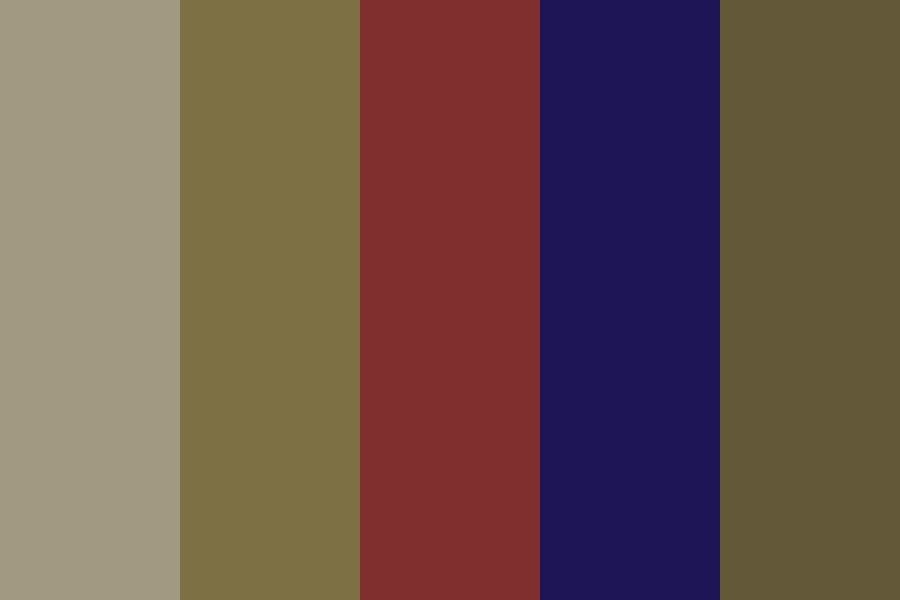 Brown Down Color Palette