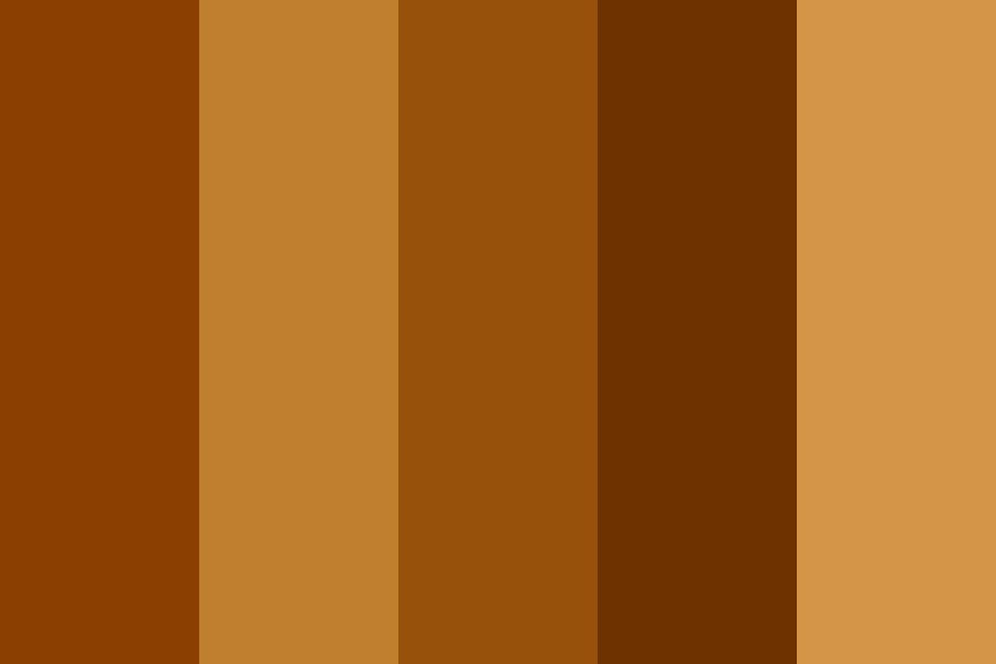 Brown Girl Beauty Color Palette