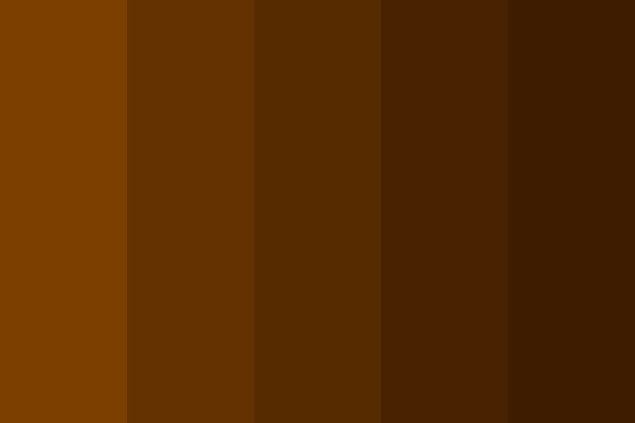 Brown Palette Color Palette
