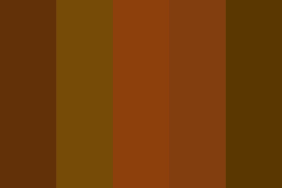 Brown Picked Color Palette