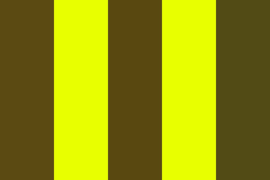 Brown Poo And Corn Color Palette