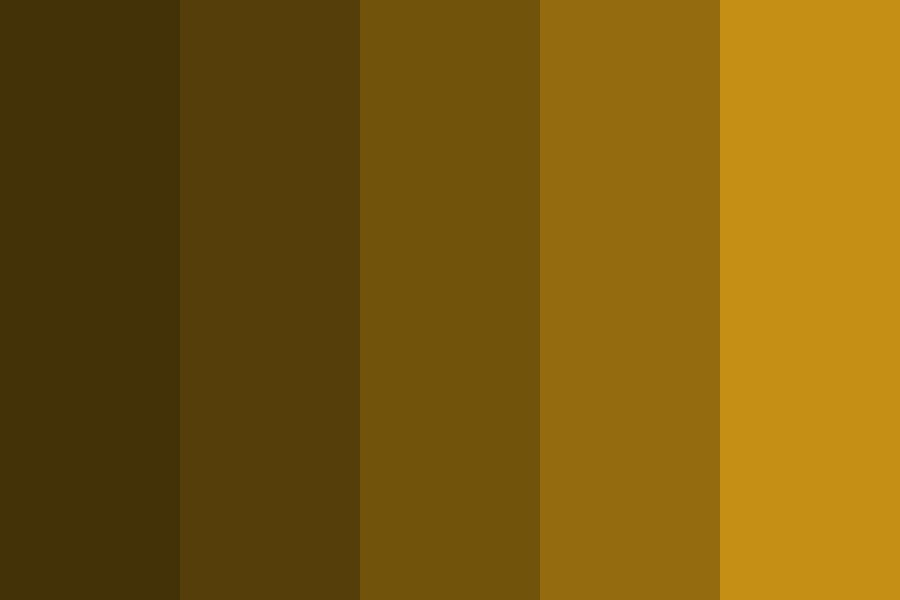 Brown Recluses Color Palette