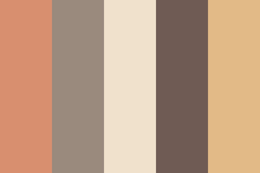 Brown Shades Color Palette