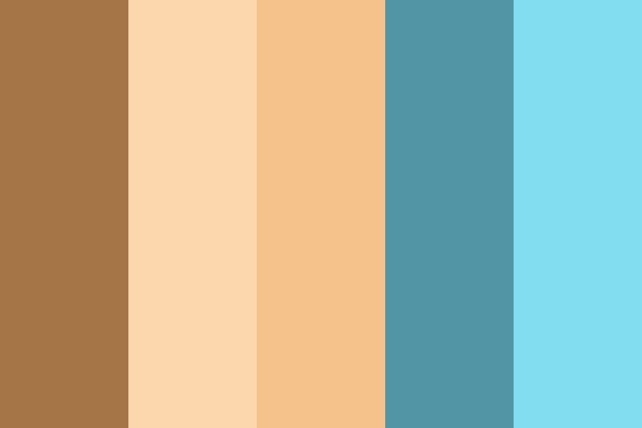 Brown Sugar Color Palette
