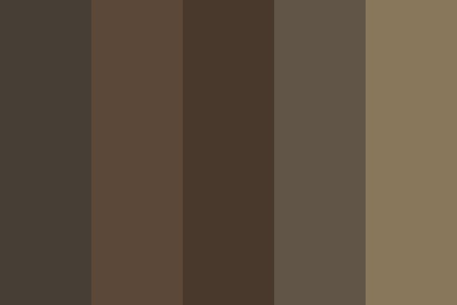 Brown Types Color Palette