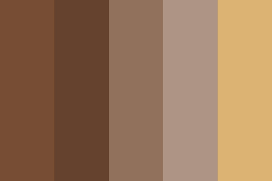 Brownqwertyuiop Color Palette