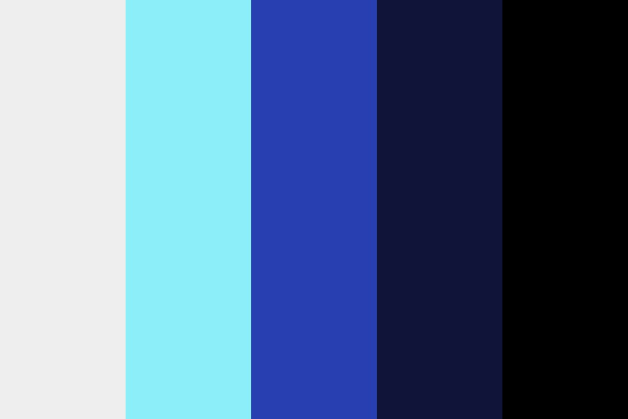 Bunch Of Blues Color Palette