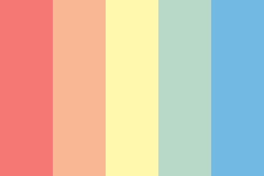 Bunch Of Flowers Color Palette