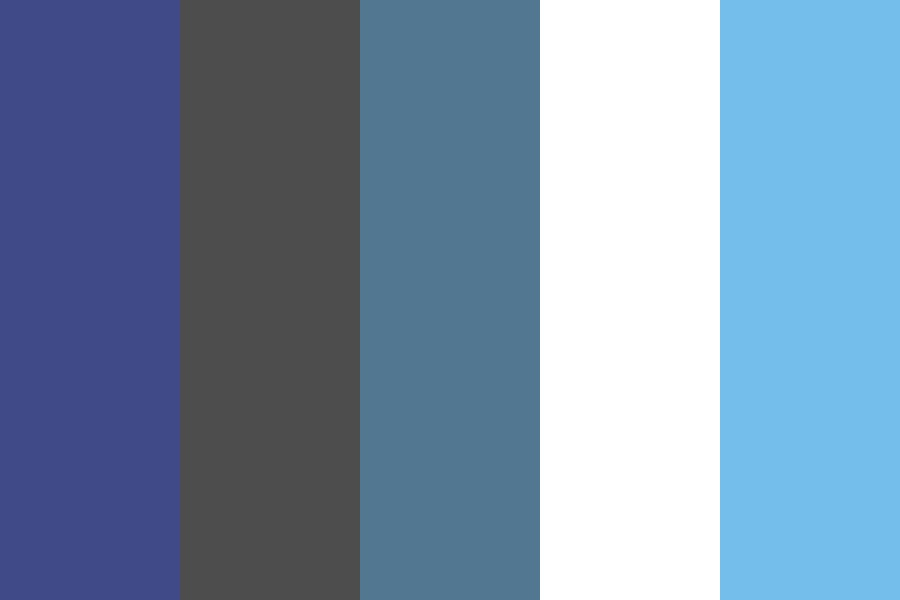 Bunisess Blue Color Palette
