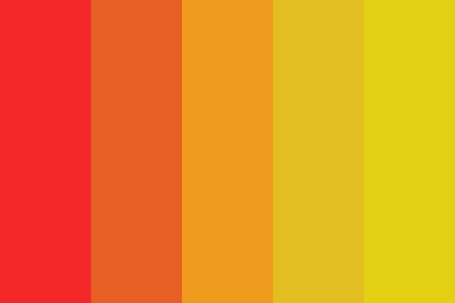 Burning Wild And Bright Color Palette