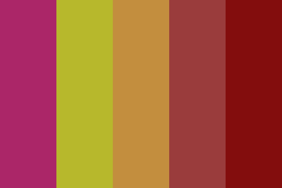 Burnt Autumn Color Palette