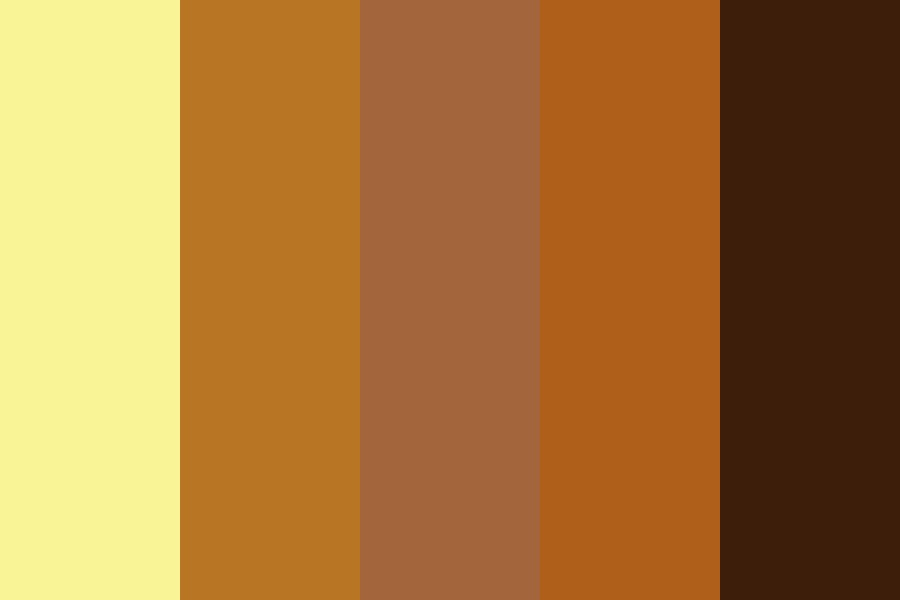 Burnt In The Sun Color Palette