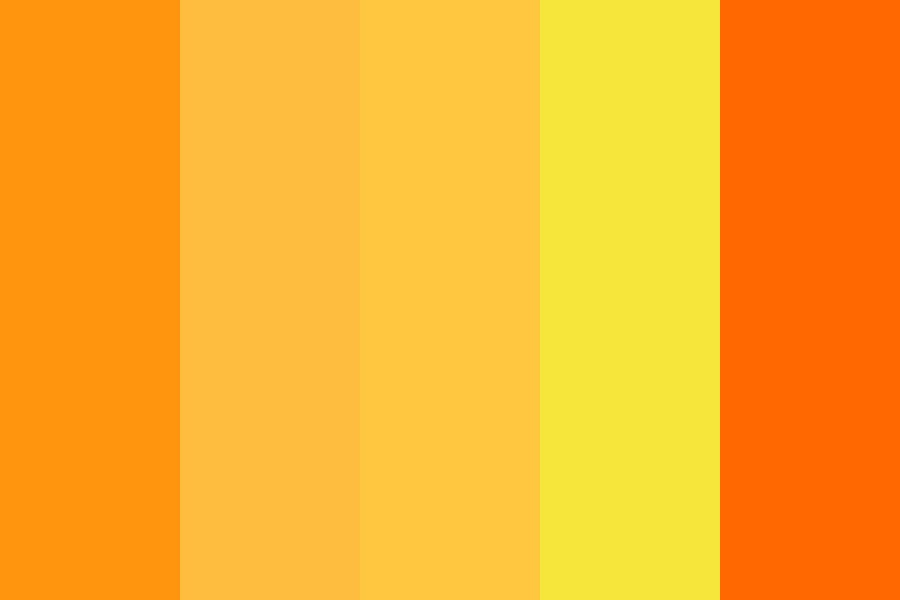 But Theres No Orange Color Palette