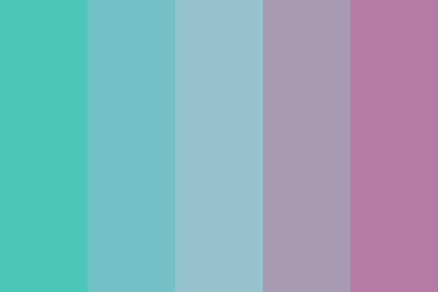 By The Coral Reef Color Palette