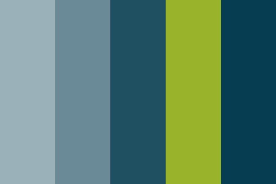 C Blues Color Palette